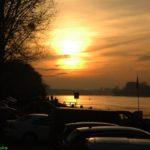 Ein fauler Sonntag am Rhein