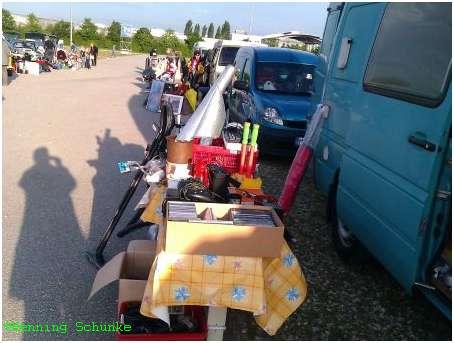 Mein Flohmarktstand am 19.5.2012