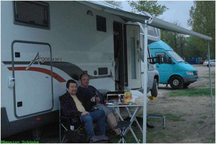 Bernd und ich am Rhein