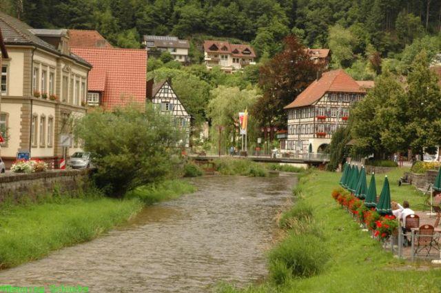 Schiltach-Fluss