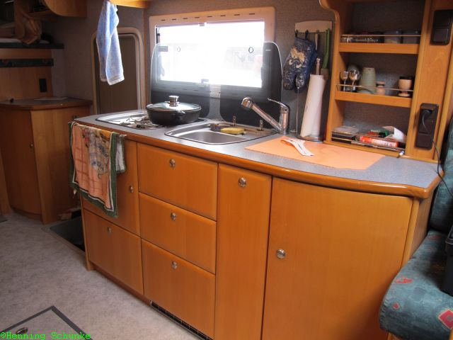 Wohnmobil Rundgang Teil2 Die Küche