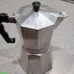 Neue Gaskaffee-Maschine