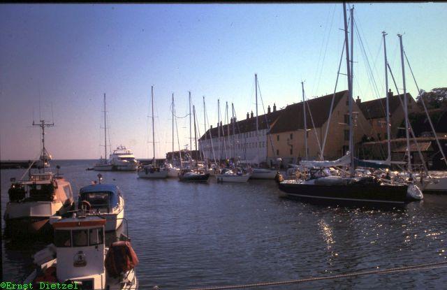Hafen von Christiansö, auch Erbseninsel genannt