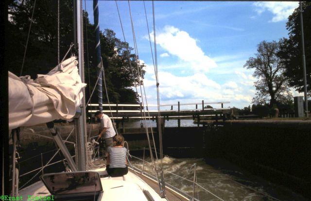 Schleuse am Götakanal