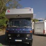 Wohnmobil-Museum: Mabu-Kabine auf Mercedes 608