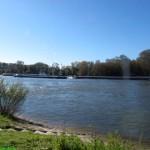 Sonniges Wochenende am Rhein
